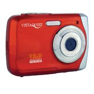 VistaQuest VQ-9100 12 Megapixel Digital Camera - Red at Kmart.com