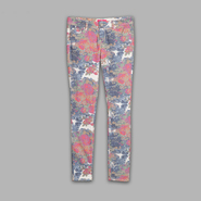 Almost Famous Juniors' Floral Skinny Pants at Sears.com
