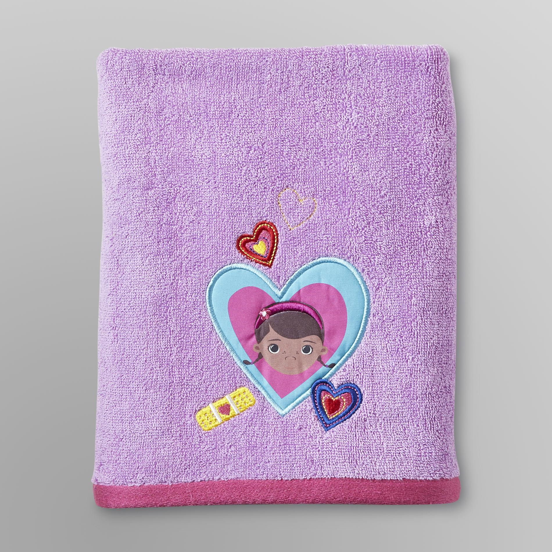 Disney  Doc McStuffins Bath Towel