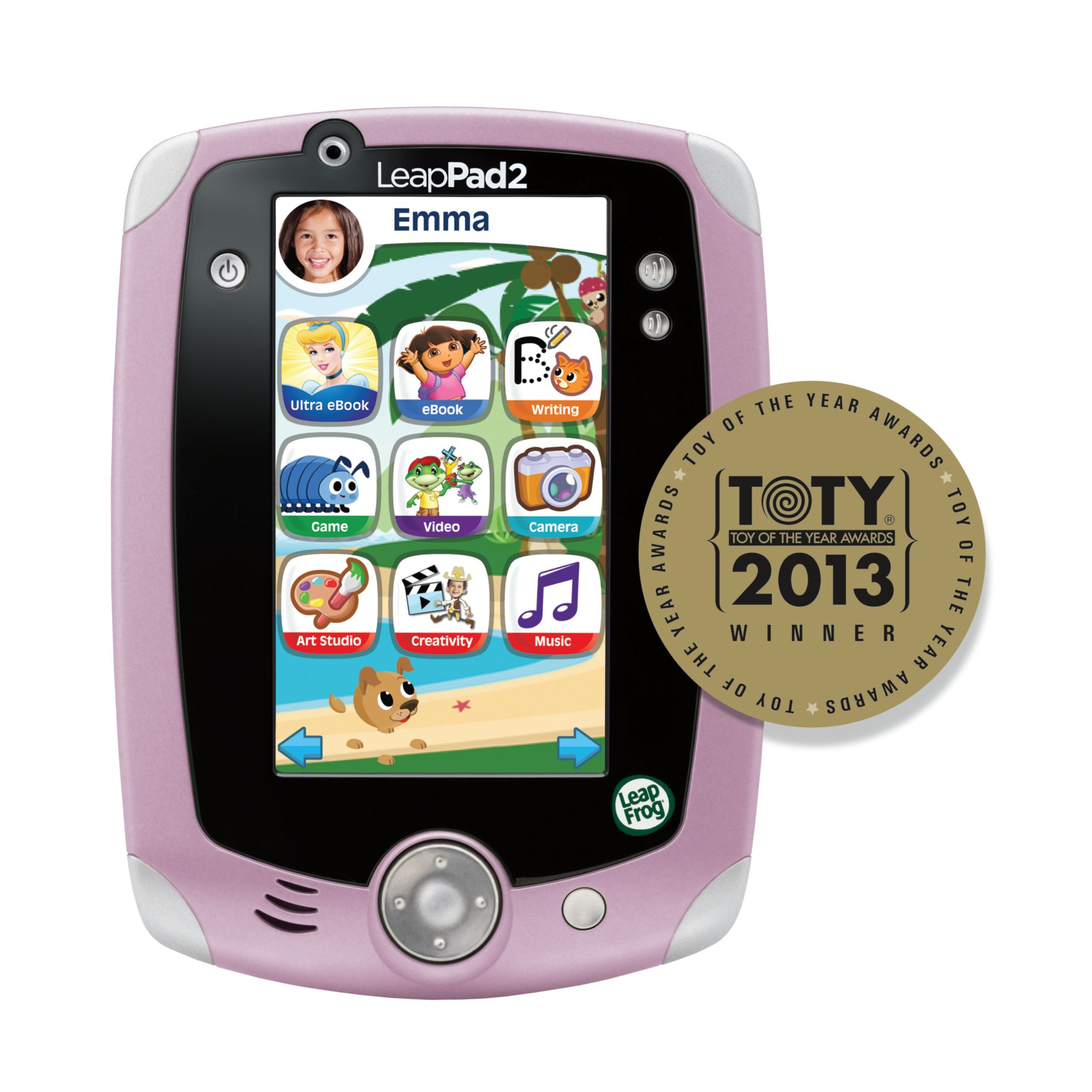 LeapPad2 Explorer Kids' Learning Tablet, Pink