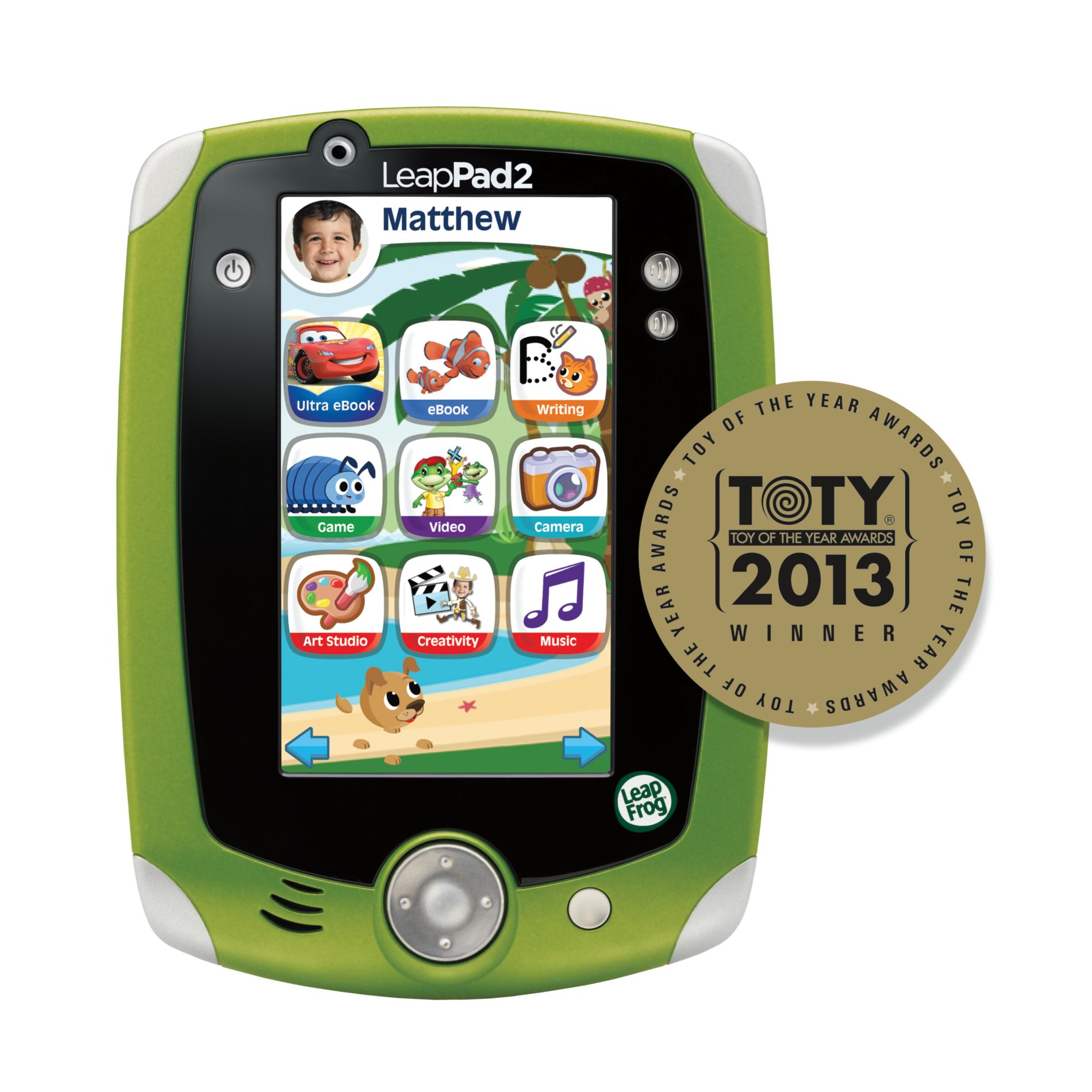 LeapPad2 Explorer™ Learning Tablet, Green