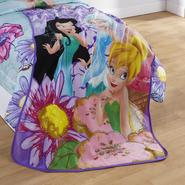Disney Tinker Bell Fairies Throw Blanket at Kmart.com