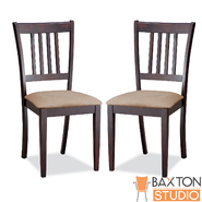 Baxton Sharon Brown Wood Modern Dining Chair (Set of 2) at Kmart.com