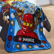 Lego Ninjago Ninja Masters Throw Blanket at Kmart.com