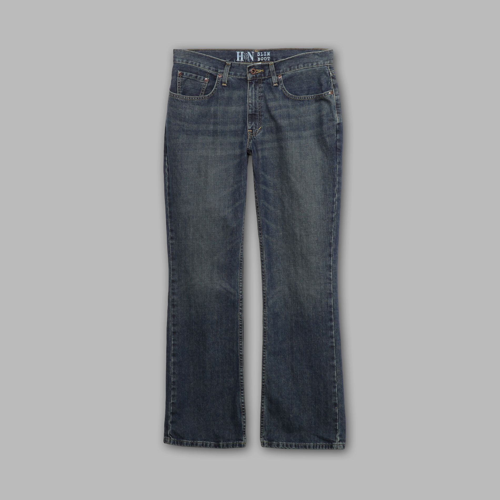 Heritage Nation Men's Slim Bootcut Jeans at Kmart.com