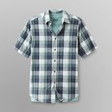 Basic Editions Men's Layered Shirt & T-Shirt at mygofer.com