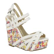 Yoki Women's Dress Sandal Cindee - White at Kmart.com