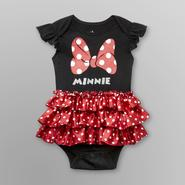 Disney Baby Minnie Mouse Infant Girl's Bodysuit - Polka Dots at Kmart.com