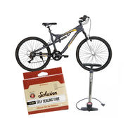 Huffy Men's Bike with Pump & Repair Kit Bundle       ...