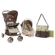 Cosco Super Safari Travel System and Diaper Bag Bundle at Kmart.com
