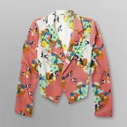 Bongo Junior's Blouse Blazer - Floral & Bird Print at Sears.com
