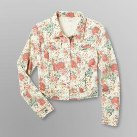 Bongo Junior's Denim Jacket - Floral Print at Sears.com