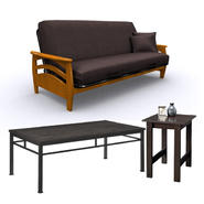 Elite Products Futon with Coffee & Side Table Bundle at Kmart.com