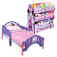 Disney Minnie Mouse Toddler Bed & Toys Organizer Bundle at Sears.com