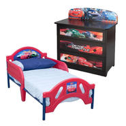 Disney Pixar Cars Toddler Bed and 3 Drawer Chest Bundle at Sears.com