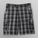 Route 66 Men's Plaid Cargo Shorts at mygofer.com