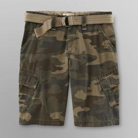Route 66 Young Men's Cargo Shorts & Belt - Camouflage at Kmart.com