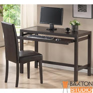 Baxton Mesa Dark Brown Writing Desk and Parson Chair set at Kmart.com