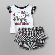 Hello Kitty Infant Girl's Gingham Top & Shorts at Sears.com
