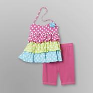 Vitamins Baby Infant & Toddler Girl's Halter Top & Shorts - Polka Dots at Sears.com