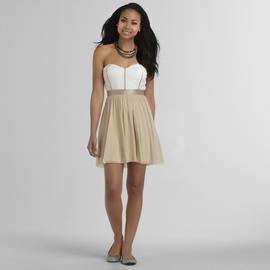 Justify Junior's Strapless Lace Dress at Sears.com