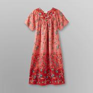 Loungees Women's Lounge Dress - Floral at Sears.com
