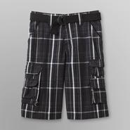 LEE Boy's Wyoming Cargo Shorts & Belt - Plaid at Sears.com