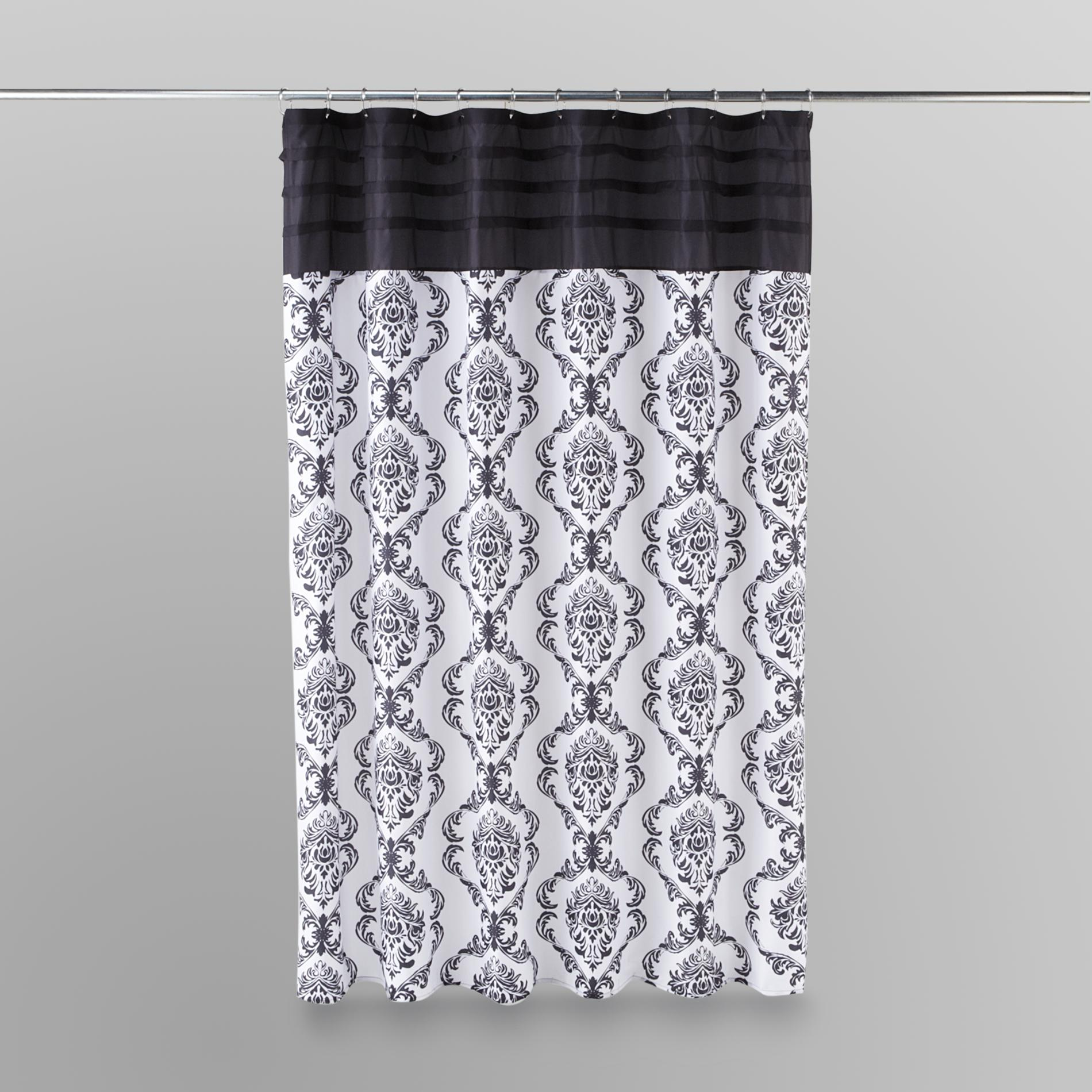 Essential Home  Shower Curtain - Damask