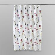 Essential Home Pressed Flowers Shower Curtain at Kmart.com