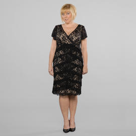 Women's Plus All-over Lace Dress at Sears.com
