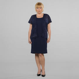 Women's Plus Glitter Jacket Dress at Sears.com