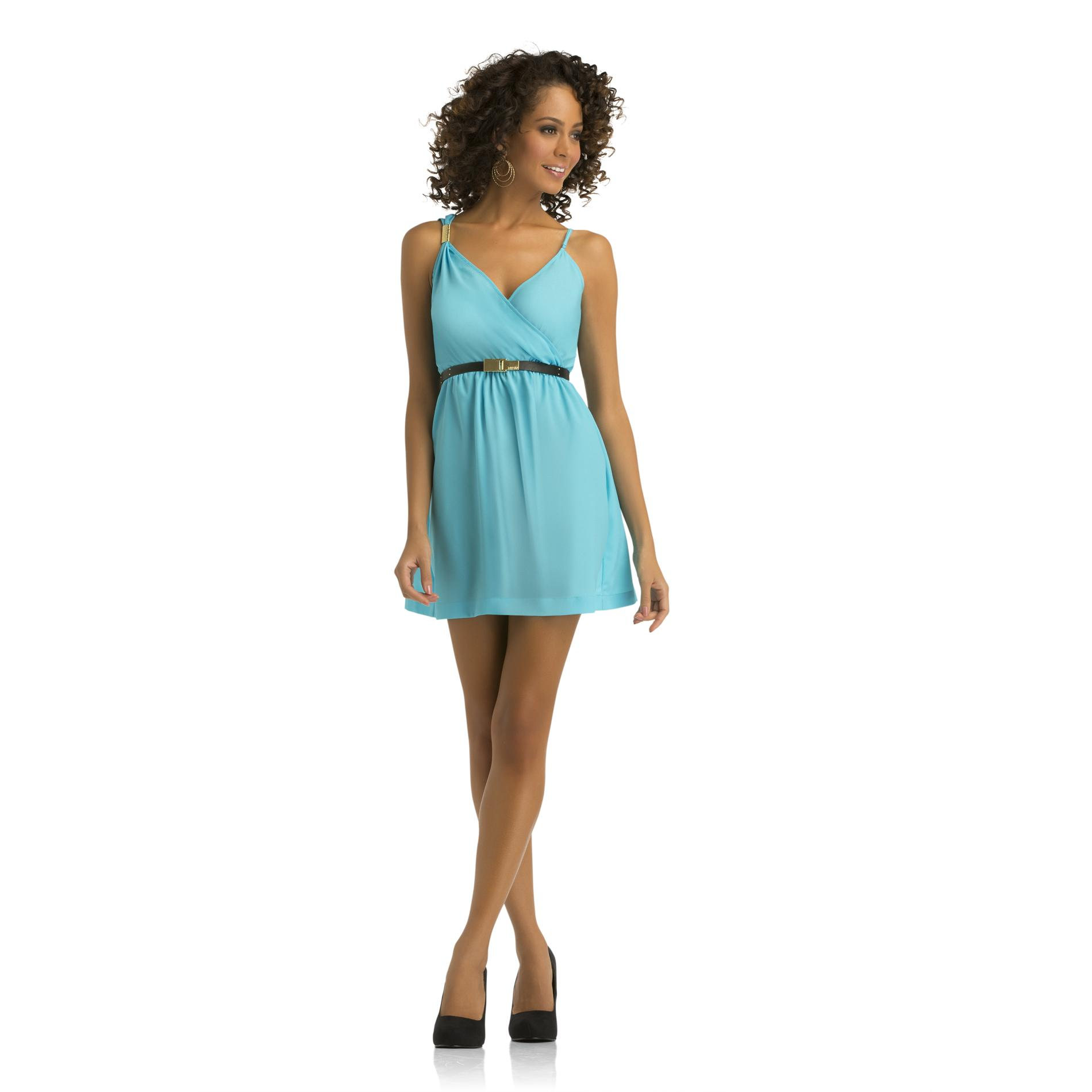 Women's Faux Wrap Sundress