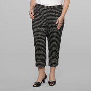 Love Your Style, Love Your Size Women's Plus Printed Soft Crop Pants at Kmart.com