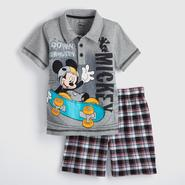 Disney Baby Mickey Mouse Toddler Boy's Polo Shirt & Shorts at Kmart.com