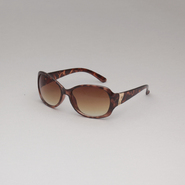 Attention Women's Oval Tortoise Sunglasses at Kmart.com