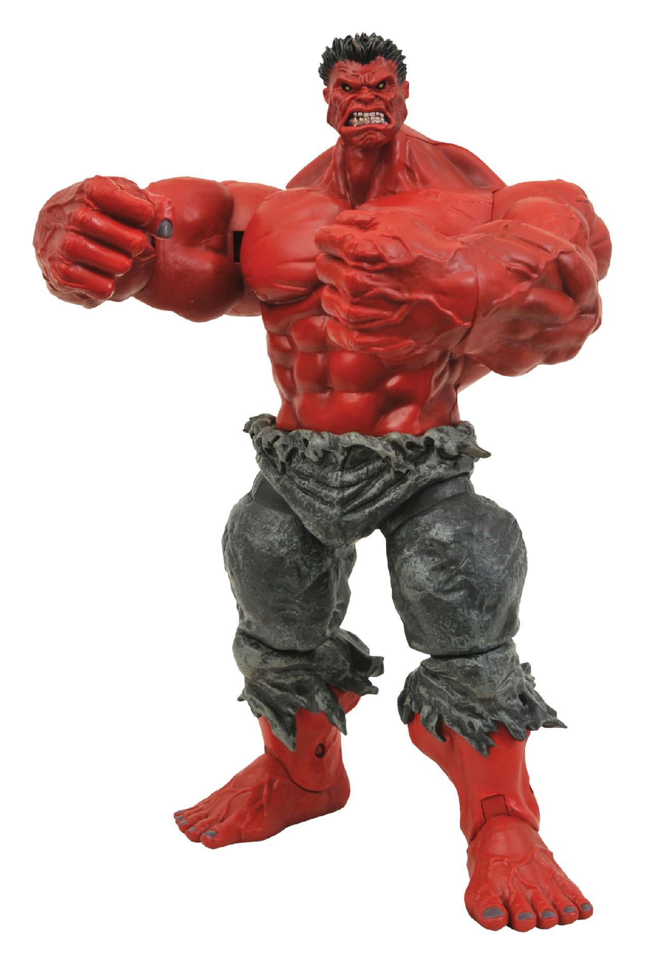 Diamond Select Toys MARVEL SELECT RED HULK ACTION FIGURE PartNumber: 05237582000P KsnValue: 05237582000 MfgPartNumber: MAR088262