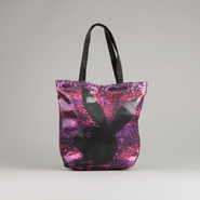Playboy Women's Bunny Printed Sequin Tote Handbag at Kmart.com