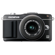 Olympus E-PM2 PEN 16MP, 14-42mm Lens Black at Kmart.com