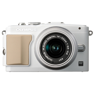 Olympus E-PL5 PEN 16MP, 14-42mm Lens White at Kmart.com