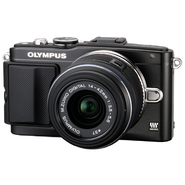 Olympus E-PL5 PEN 16MP, 14-42mm Lens Black at Kmart.com