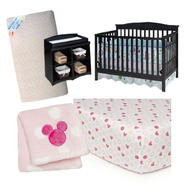 Minnie Mouse Crib and Bedding Bundle at Sears.com