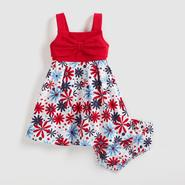 Sweet Heart Infant & Toddler Girl's Dress & Diaper Cover - Flowers at Sears.com