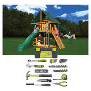 Gorilla Playset & Homeowner's Tool Set Bundle        ...