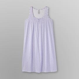 Pink K Women's Plus Sleeveless Nightgown - Sea Shell at Kmart.com