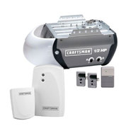 Craftsman 1/2 hp Garage Door Opener and Door Monitor Bundle at Sears.com