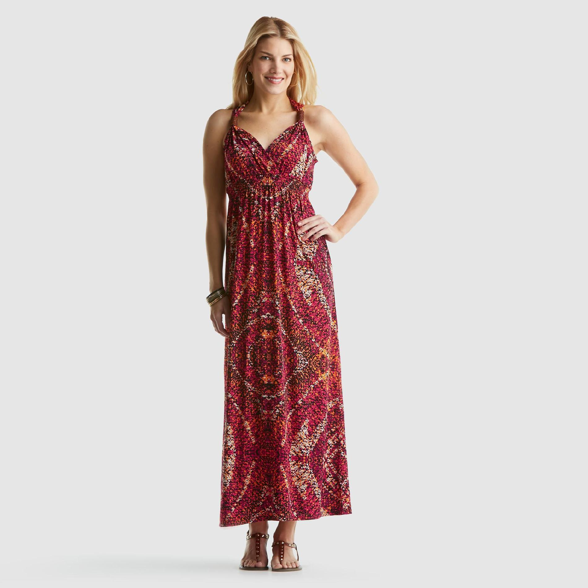 Jaclyn Smith Women's Maxi Dress - Paisley at Kmart.com