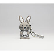 EMTEC M321 Animal Series Farm 4 GB USB 2.0 Flash Drive (Bunny) at Kmart.com