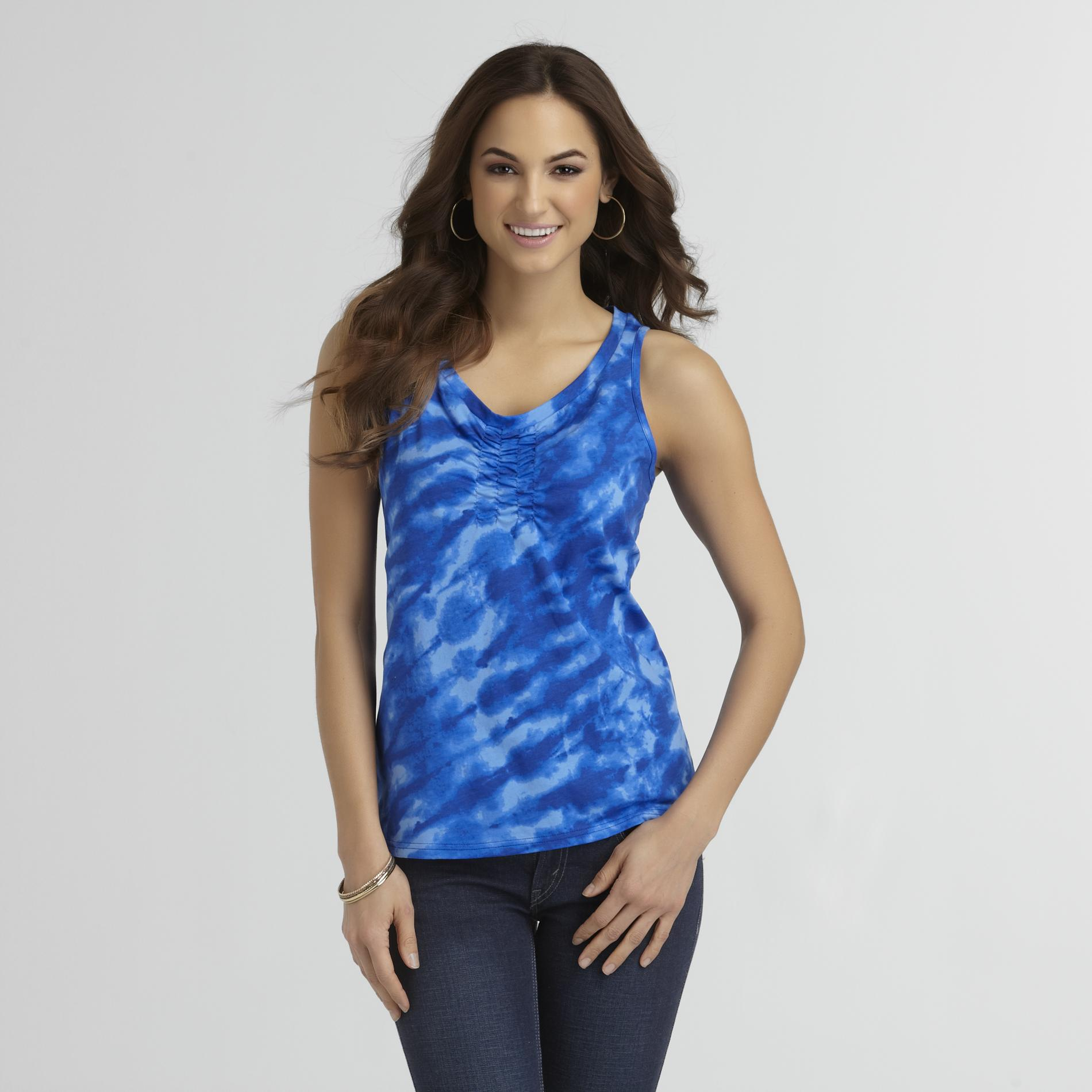 Basic Editions Women's Smocked Tank Top at Kmart.com