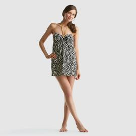 Jaclyn Smith Women's Swim Dress - Zebra Print at Kmart.com