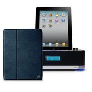 At&t SoundPad Pro Tune Bluetooth Speaker System Bundle w/ Eco-Leather Ipad Portfolio Case (ID501) at Kmart.com